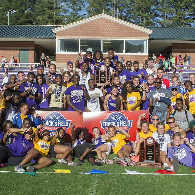 Men's and women's teams take SoCon titles.